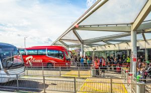 bussar stansted 300x185 - Coach Station In Stansted (hdr)